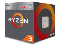 Procesor AMD Ryzen 3 2200G, YD2200C5FBBOX, 4 nuclee, 3.5GHz (3.7GHz Max Turbo), 6MB, AM4, 65W