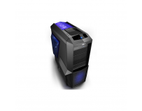 Carcasa Zalman, Middle Tower, Z11 PLUS, No PSU, ATX/mATX, vent incluse:spate 1*120mm, fata 1*120mm Blue