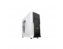 Carcasa Zalman, Middle Tower, Z3 Plus, No PSU, ATX/mATX, vent incluse:spate 1*120mm, fata 1*120mm Blue