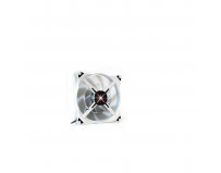 Ventilator carcasa Zalman, DF14 LED, red LED, 14cm, 600-1.200rpm, 16.5- 28dBA, 140(L)x140(W)x27(H)mm,