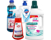 Pachet Dezinfectanti Alcool sanitar 70% 0,5L+Dezinfectant universal multisuprafete Hygienium 750 ml+Sapun lichid antibacterian Safeguard Classic Pure White, 225 ml+Dezinfectant haine 1l Sanytol