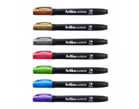 Permanent marker metalizat, corp plastic, varf rotund 1.0mm, ARTLINE Supreme Metallic