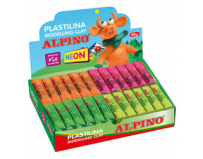 Plastilina fluorescenta display 24x50 grame