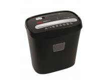 Distrugator geha home office x6 cd, capacitate 6 coli, dimensiune 315x195x322mm, taiere 5x35mm