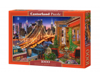 Puzzle 1000 piese Brooklyn Bridge Lights