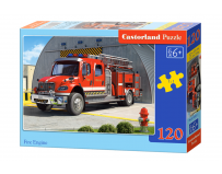 Puzzle 120 piese Fire Engine
