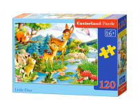 Puzzle 120 piese Little Deer