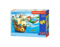 Puzzle 120 piese Peter Pan - Castorland