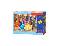 Puzzle 120 piese Princess Ball - Castorland