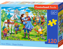 Puzzle 120 piese Snow White - Happy Ending - Castorland