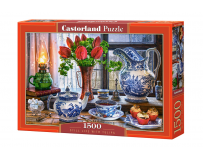 Puzzle 1500 piese Still Life  With Tulips