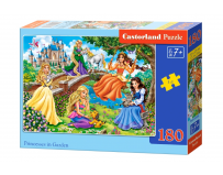 Puzzle 180 piese Princesses in Garden