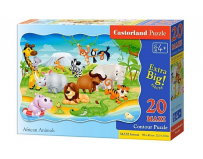 Puzzle 20 piese Maxi African Animals