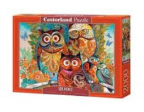 Puzzle 2000 piese Owls 200535