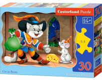 Puzzle 30 piese Cat in Boots - Castorland