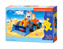 Puzzle 30 piese Funny Bulldozer