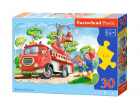 Puzzle 30 piese Kitten Rescue