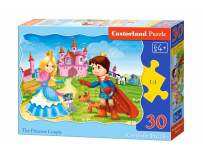 Puzzle 30 piese The princess Couple