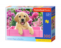 Puzzle 300 piese Labrador Puppy in a Box