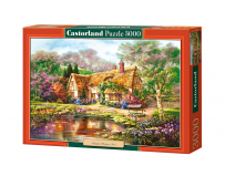 Puzzle 3000 piese Copy Of Twilight at Woodgreen Pond