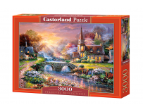 Puzzle 3000 piese Paceful Reflections -Castorland