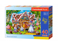 Puzzle 40 piese Maxi Hansel and Gretel