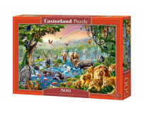 Puzzle 500 piese Raul din jungla