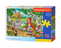 Puzzle 70 piese Little Red Riding Hood