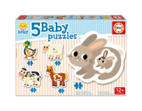 Puzzle baby the farm 14 piese
