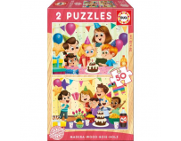 Puzzle birthday party 2 x 50 piese
