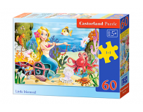 Puzzle Castorland 60 piese Mica Sirena