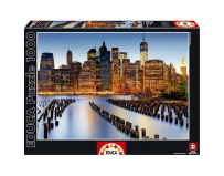 Puzzle City of Skyscrapers 1000 Piese - Puzzle educativ