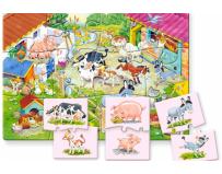 Puzzle educational Mama si copilul Castorland