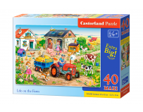 Puzzle Life on the farm