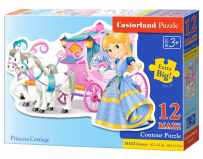 Puzzle Princess Carriage