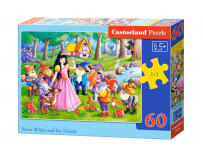 Puzzle Snow White and the Seven Dwarfs 60 piese - Castorland