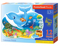Puzzle Underwater Friends