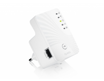 Range extender wireless n 300mbps, direct plug small design, 1 port 10/100mbps, wps, zyxel wre2205-eu0101f