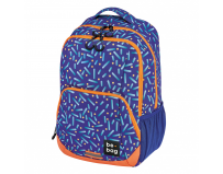 Rucsac be.bag, model be.freestyle, dimensiune 45x32x20 cm, motiv confetti + stilou gratis