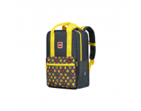 Rucsac Casual LEGO Tribini Fun Large - design Heads and Cup - galben