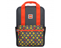 Rucsac Casual LEGO Tribini Fun Large - design Heads and Cup - rosu