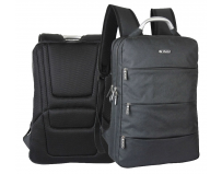 Rucsac cu 3 compartimente și suport laptop, Explore the world, Herlitz