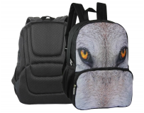 Rucsac cu 2 compartimente, Eyes of the wild  Lup, Herlitz