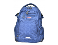 Rucsac doua compartimente Crash Navy Blue