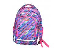 Rucsac doua compartimente,Balance Diagonal Striped