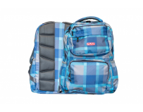 Rucsac Foggy cu un compartiment, Motiv Blue Checkers