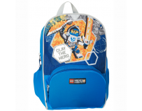 Rucsac Junior LEGO Core Line - design bleu Nexo Knights