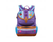 Rucsac ZIP-IT Adventure Young Fashion Designer, cu buzunare laterale
