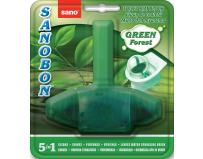 ODORIZANT WC SANO BON GREEN FOREST 5in1.