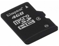Secure digital card micro sdhc 4gb class 4 kingston (sdc4/4gb)